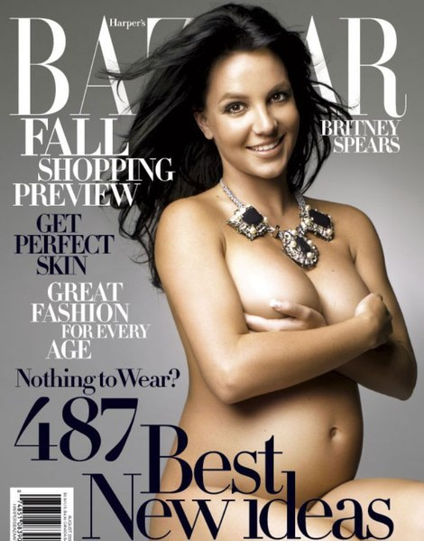 Pregnant NUDE Photos Hot or Not? Do you think magazine covers and photos of ...